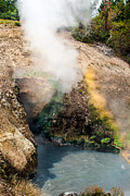 Geyser Prints - Dragons Mouth Print by Robert Bales