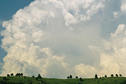 Custer State Park Prints - Dramatic Clouds Over Custer State Park Print by Annie Griffiths