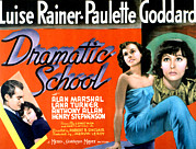 Lobbycard Framed Prints - Dramatic School, Alan Marshal, Luise Framed Print by Everett