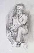 Lynne Cunningham - Drawing of David