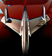 Flying Crafts Prints - Dream - 55 Chevy Hood Ornament Print by Steven Milner