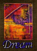 Dream Banner Print by Angela L Walker