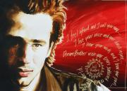 Musicians Painting Originals - Dream Brother Jeff Buckley by Ken Meyer jr