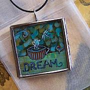 Acrylic Necklace Jewelry - Dream by Dana Marie