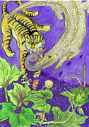 Tiger Dream Prints - Dream Print by Evelyn Cammarano