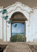 Surrealism Pyrography Acrylic Prints - Dream Facade Acrylic Print by Richard Nickson