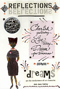 Messages Framed Prints - Dream For Tomorrow Framed Print by Angela L Walker