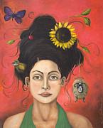 Dream Hair 2 Print by Leah Saulnier The Painting Maniac