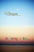 Dream In Living Color Print by Judy Hall-Folde