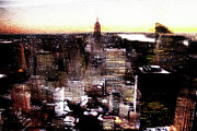 Nyc Digital Art Metal Prints - Dream Island Metal Print by Andrea Barbieri