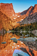 Ken Brodeur - Dream Lake Sunrise Rocky...