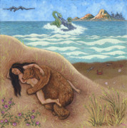 Humor. Painting Originals - Dream of a Time by Holly Wood