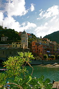 Village By The Sea Posters - Dream of Vernazza Poster by  K Scott Williamson