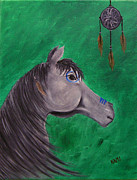 Catcher Drawings - Dream Pony by Kami Catherman