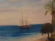 Betty Pimm Art - Dream Sail by Betty Pimm