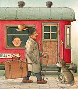 Suitcase Prints - Dream Suitcase Print by Kestutis Kasparavicius
