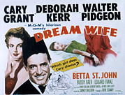 Love Triangle Posters - Dream Wife, From Left Deborah Kerr Poster by Everett