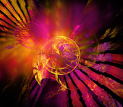 Blend Prints - Dreamcatcher Print by Ricky Barnard