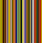 Stripe.paint Posters - Dreamcoat Designs Poster by Michelle Calkins