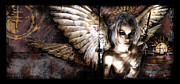 Wings Digital Art Metal Prints - DreamCypher Metal Print by Mandem