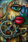 Urban Expressions Framed Prints - Dreamers 3 Framed Print by Michael Lang