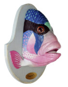 Fish Sculpture Sculpture Posters - Dreamfish trophy Poster by Artem Efimov