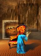 Desert Digital Art - Dreaming Chair by Svetlana Sewell