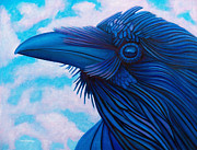 Birds Of Prey Paintings - Dreaming in High Definition by Brian  Commerford