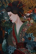 Gonca Yengin Prints - Dreaming Japan Print by Gonca Yengin