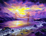 Laura Milnor Iverson Painting Originals - Dreaming of San Francisco by Laura Iverson