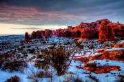 Southern Utah Framed Prints - Dreaming of Utah III Framed Print by Irene Abdou