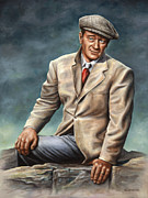 John Wayne Paintings - Dreaming of WhiteOMorn by Kim Lockman