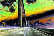 Sunshine Skyway Bridge Prints - Dreaming over the Skyway Print by David Lee Thompson