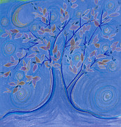 Magic Pastels Prints - Dreaming Tree by jrr Print by First Star Art 