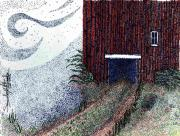 Pointillism Originals - Dreamland Opens Here... by Saundra Lee York