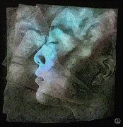 Woman Dreaming Prints - Dreamlayers Print by Gun Legler