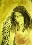 Angels Drawings Originals - Dreams for you by J Bauer