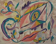 Expressionsim Paintings - Dreams of Spring by Suzanne  Marie Leclair