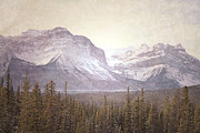 Winter Photos Posters - Dreamy Banff Poster by Andrea Hazel Ihlefeld