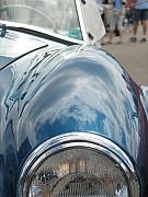 Blue Thunderbird Posters - Dreamy Reflections Poster by Kelly Mezzapelle