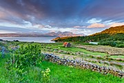Wester Ross Prints - Dreamy Sunset Print by Maciej Markiewicz