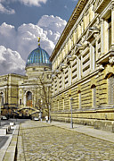 Vertical Metal Prints - Dresden Academy of Fine Arts Metal Print by Christine Till
