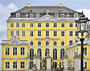 Historic Buildings Prints - Dresden Taschenberg Palace - Celebrate love while it lasts Print by Christine Till