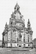 Dresden Photos - Dresdens Church of our Lady - Reminder of peace by Christine Till