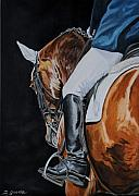 Dressage Prints - Dressage Print by Jana Goode