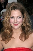 The Late Show With David Letterman Posters - Drew Barrymore At Talk Show Appearance Poster by Everett