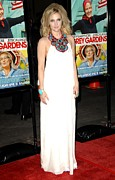 Jeweled Dress Framed Prints - Drew Barrymore Wearing An Andrew Gn Framed Print by Everett