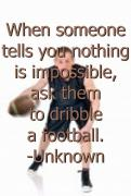 Marjorie Troyer - Dribble a Football