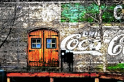 Coca-cola Mural Prints - Drink Coca Cola  Print by Gray  Artus