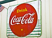 Drink Coca Cola Print by Susan Leggett